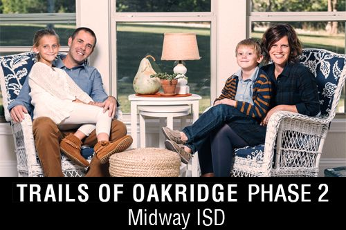 New Homes for Sale in Trails of Oakridge   McGregor, TX Home Builder