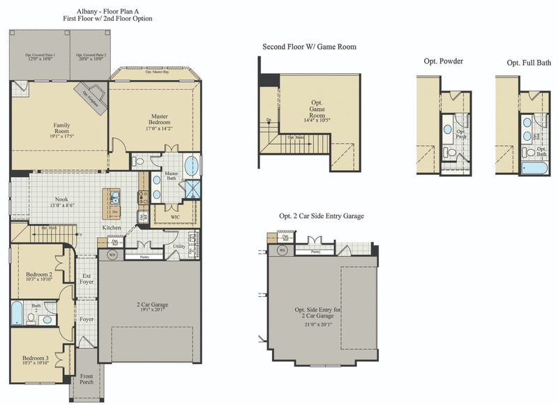 New Home Floor Plan (Albany) Available at John Houston Custom Homes
