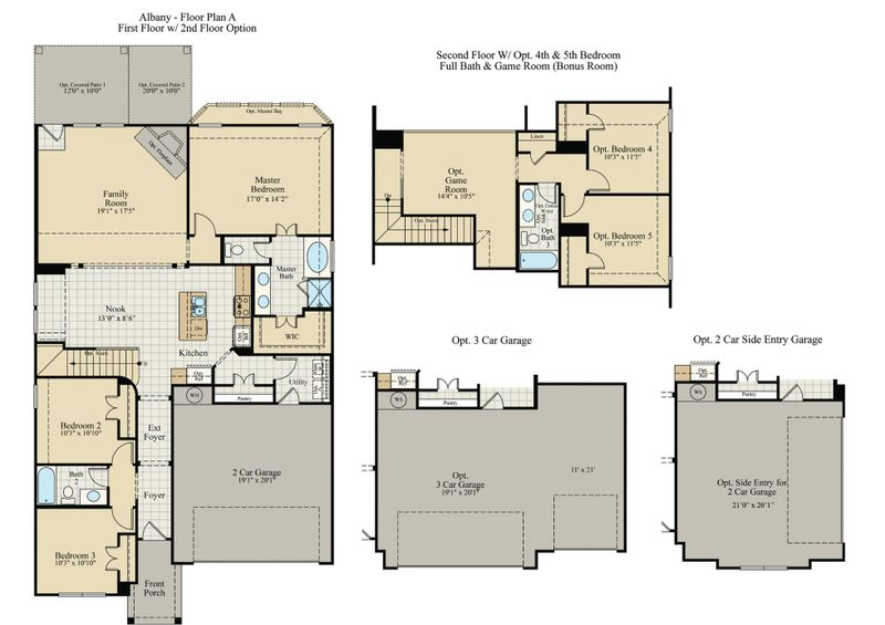 Albany Home Plan By J Houston Homes In Greenridge Estates