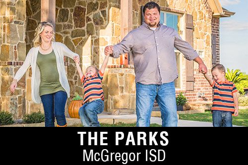 New Homes for Sale in The Parks | McGregor, TX Home Builder