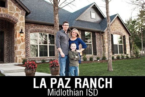 New Homes for Sale in La Paz Ranch | Midlothian, TX Home Builder