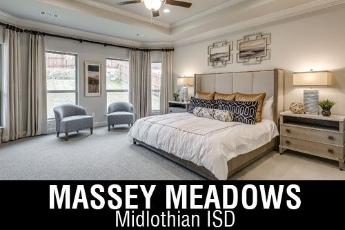 New Homes for Sale in Massey Meadows| Midlothian, TX Home Builder