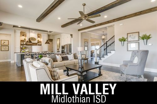 New Homes for Sale in Mill Valley | Mansfield, TX Home Builder