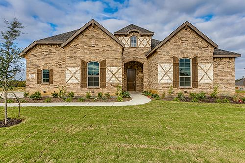New Homes for Sale in Pinnacle Estates   Burleson, TX Home Builder