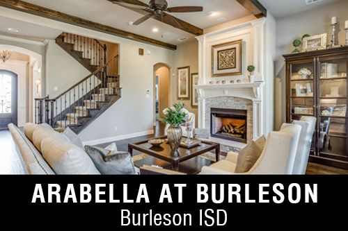 New Homes for Sale in Arabella at Burleson I Burleson, TX Home Builder