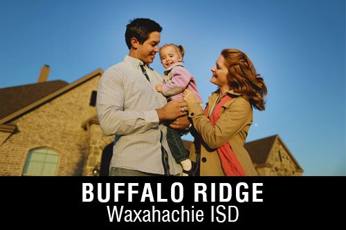 New Homes for Sale in Buffalo Ridge I Waxahachie, TX Home Builder