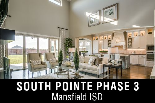 New Homes for Sale in South Pointe Phase 3 | Mansfield, TX Home Builder