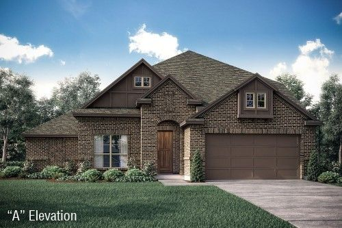 Tudor Home Exterior Design Available in Dallas Ft. Worth Waco Area