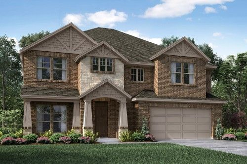 French Style Home Exterior Design Available in Dallas Ft. Worth Waco Area