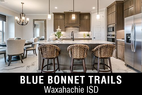 New Homes for Sale in Blue Bonnet Trails I Waxahachie, TX Home Builder