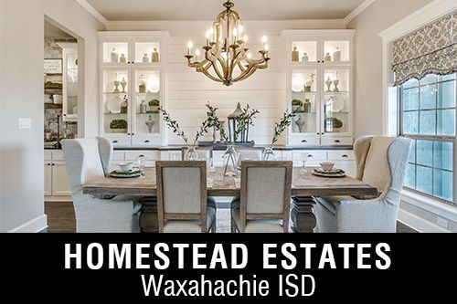 New Homes for Sale in Homestead Estates I Waxahachie, TX Home Builder