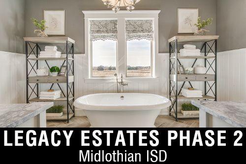 New Homes for Sale in Legacy Estates I Midlothian, TX Home Builder