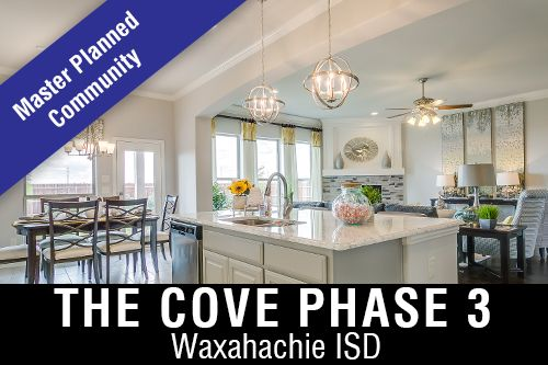 New Homes for Sale in The Cove I Waxahachie, TX Home Builder