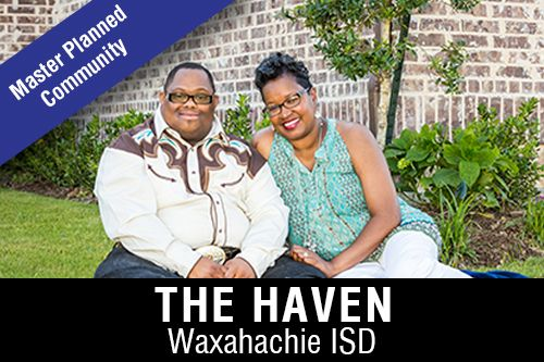 New Homes for Sale in The HavenI Waxahachie, TX Home Builder