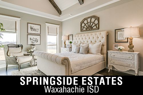 New Homes for Sale in Springside Estates| Waxahachie, TX Home Builder