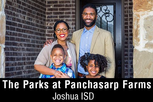 New Homes for Sale in The Parks at Panchasarp Farms | Burleson, TX Home Builder