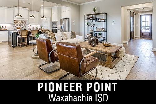 New Homes for Sale in Pioneer Point I Waxahachie, TX Home Builder, County Taxes, 1 Acre Lots