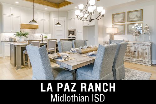 New Homes for Sale in La Paz Ranch I Midlothian, TX Home Builder
