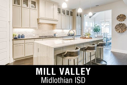 New Homes for Sale in Mill Valley I Mansfield, TX Home Builder