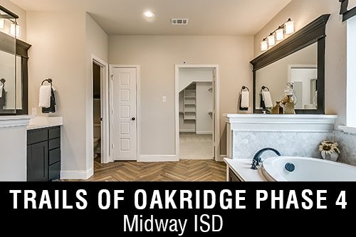 New Homes for Sale in Trails of Oakridge Phase 4 I McGregor,TX Home Builder