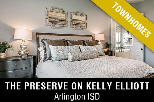 New Homes for Sale in The Preserve on Kelly Elliot I Arlington,TX Home Builder
