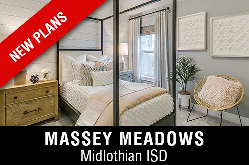 New Homes for Sale in Massey Meadows I Midlothian, TX Home Builder