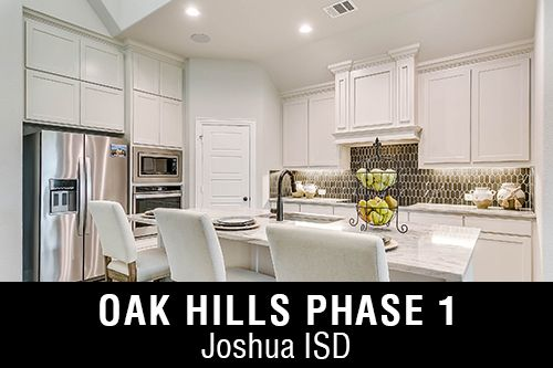 New Homes for Sale in Oak Hills Phase 1 | Burleson, TX Home Builder