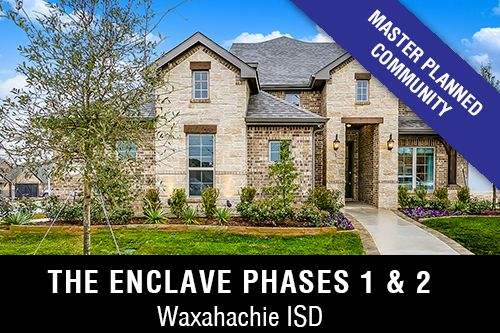 New Homes for Sale in The Enclave Phases 1 & 2 I Waxahachie,TX Home Builder