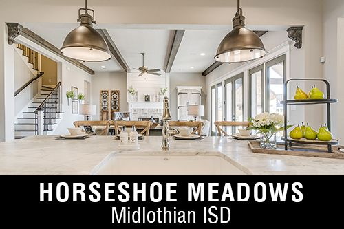 New Homes for Sale in Horseshoe Meadows I Waxahachie,TX Home Builder