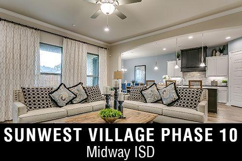 New Homes for Sunwest Village Phase 10 I McGregor,TX Home Builder
