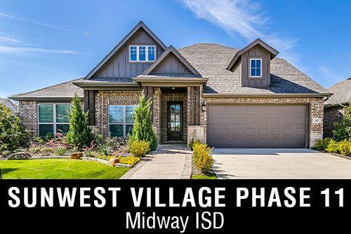 New Homes for Sale in Sunwest Village Phase 11 I McGregor,TX Home Builder