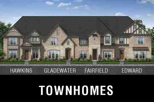 New Town Homes for Sale at The Preserve on Kelly Elliott I Community in Arlington, TX