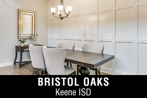 New Homes for Sale in Bristol Oaks I Keene,TX Home Builder