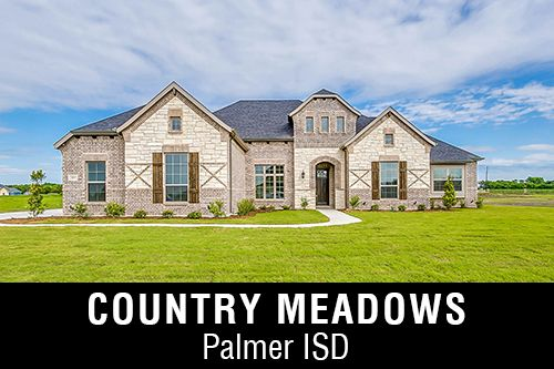 New Homes for Sale in Country Meadows I Waxahachie,TX Home Builder