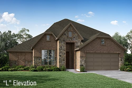 Traditional Style Home Exterior Design Available in Dallas Ft. Worth Waco Area