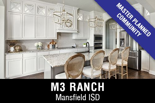 New Homes for Sale in M3 Ranch I Mansfield,TX Home Builder