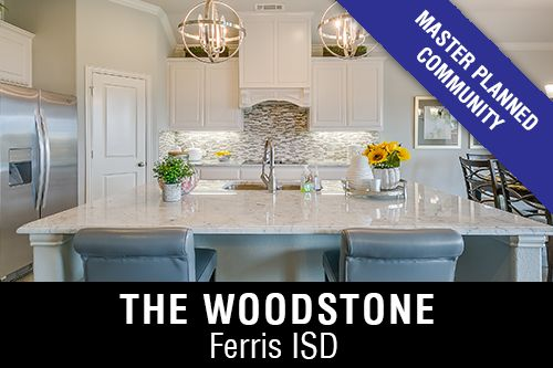 New Homes for Sale in The Woodstone I Ferris,TX Home Builder