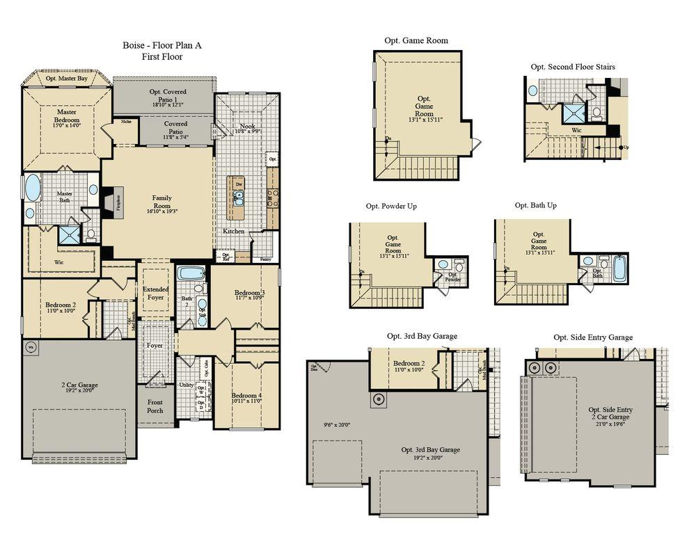 wood floors, kitchen backsplash, open concept, quartz granite countertops, master suite