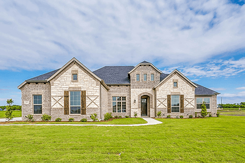 New Homes in Country Meadows in Waxahachie, TX