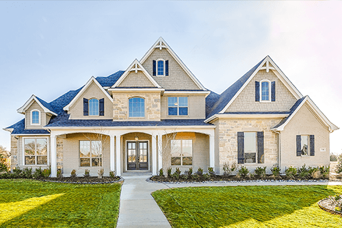 New Homes in Legacy Estates in Waxahachie, TX