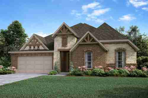 Eclectic Style Home Exterior Design Available in Dallas Ft. Worth Waco Area