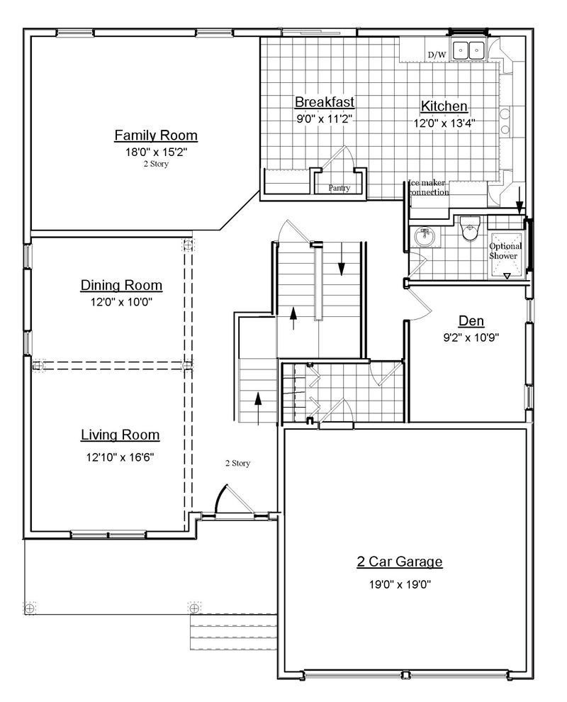 Oxford home plan by jls design construction in sandy meadows for Oxford floor plan