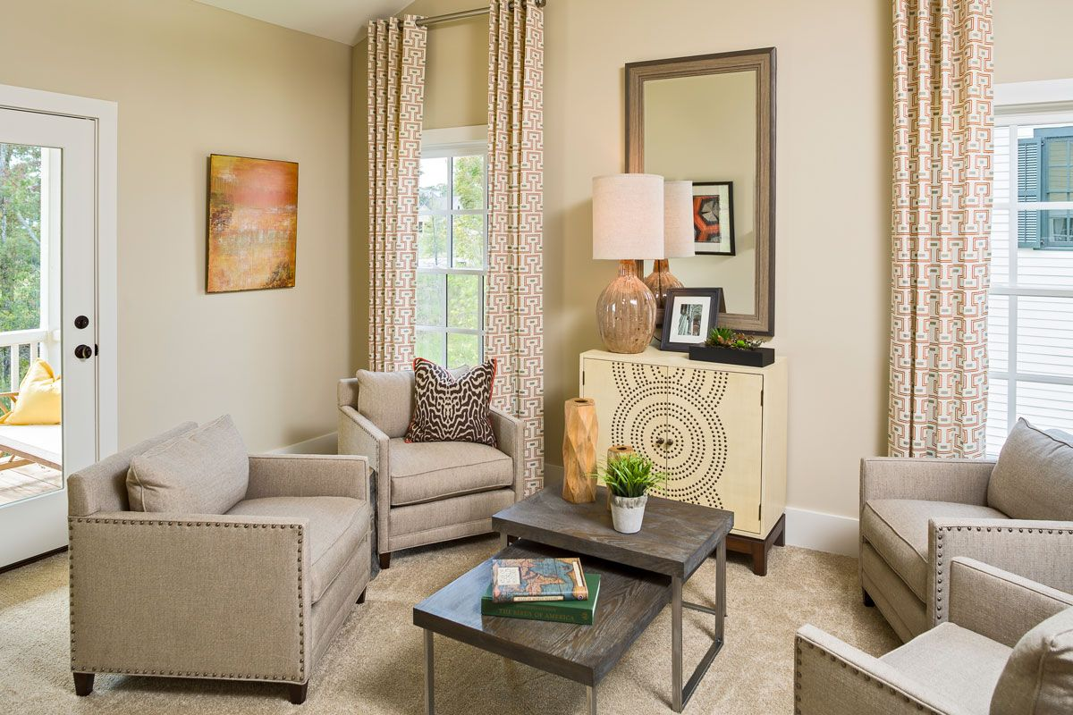Living Area featured in the Beaufort I - Village Builders By JMC Homes of SC