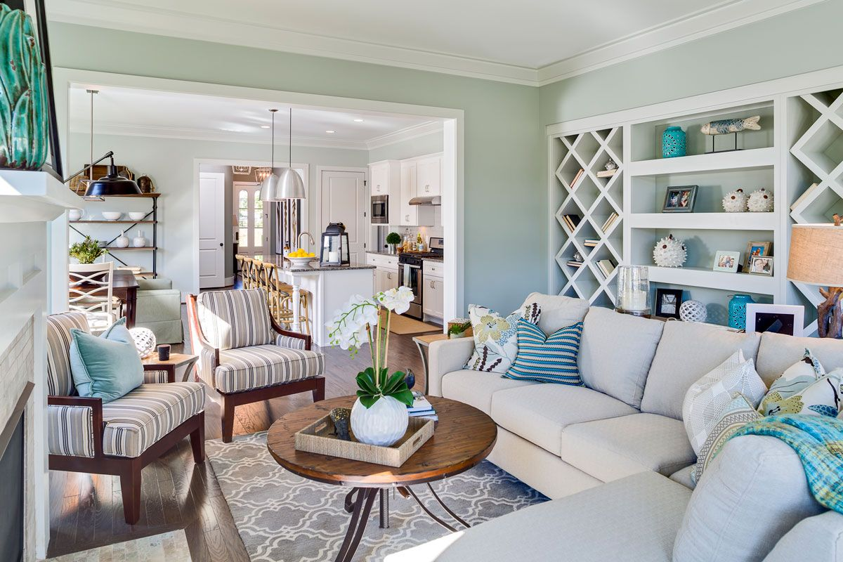 Living Area featured in the Savannah I - Village Home By JMC Homes of SC