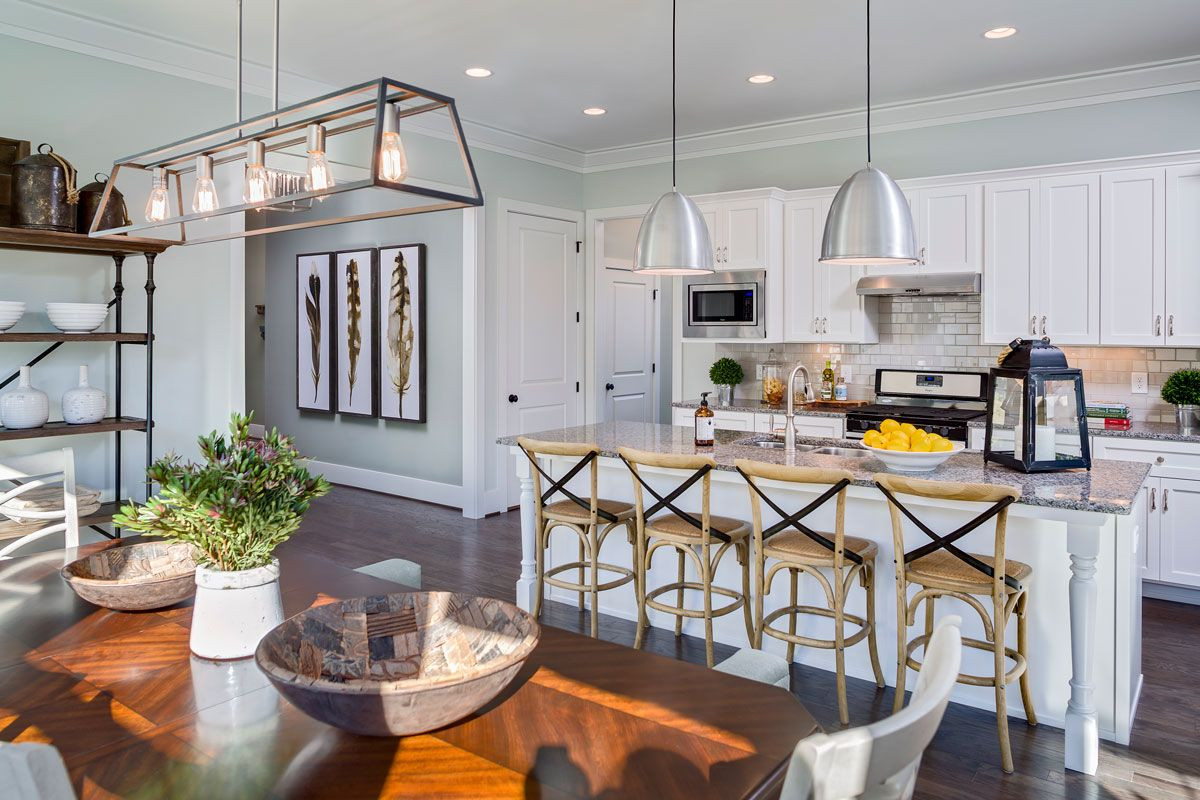 Kitchen featured in the Savannah II - Village Homes By JMC Homes of SC