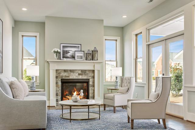 Living Area featured in the Aiken - Village Homes By JMC Homes of SC in Greenville-Spartanburg, SC