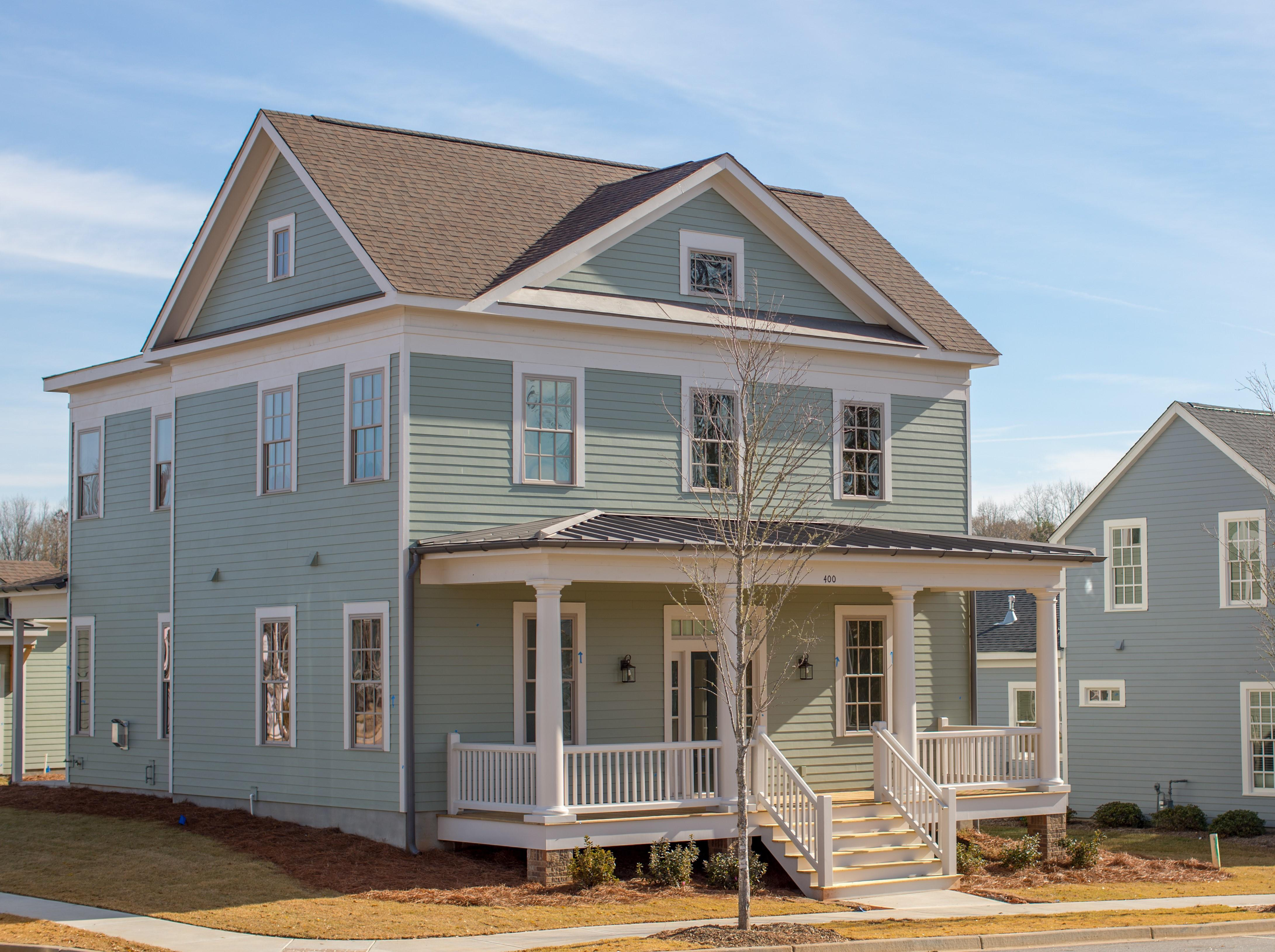 Exterior featured in the Aiken - Village Homes By JMC Homes of SC in Greenville-Spartanburg, SC