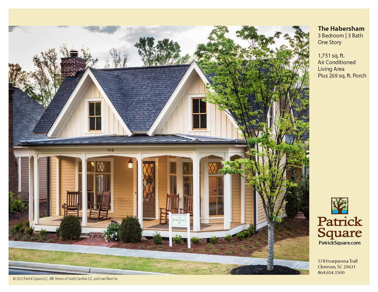 Exterior featured in the Habersham - Village Builders By JMC Homes of SC