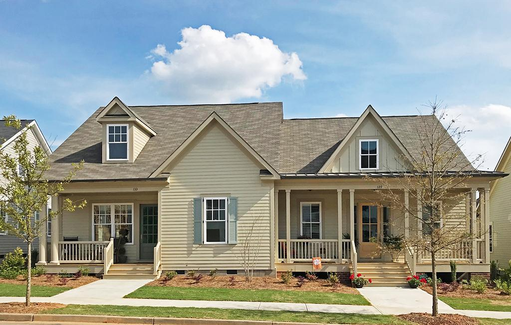 Exterior featured in the Palmetto - Paired Villa By JMC Homes of SC in Greenville-Spartanburg, SC