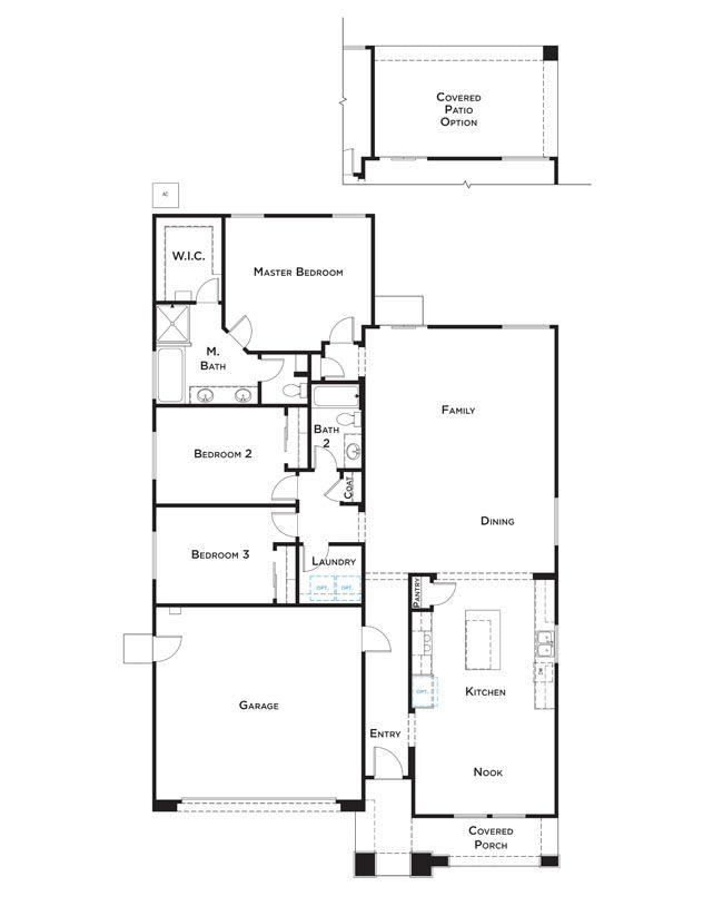 Residence 4 Floor Plan